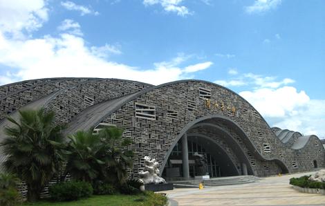 Liuzhou rare stone museum