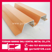 4S shops outside wall split joint decorative aluminum panel