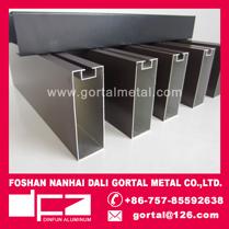 35x100 PVDF square baffle ceiling