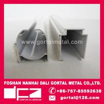 Aluminum roman curtain track