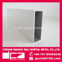 25x75 Aluminum extruded RHS square pipe