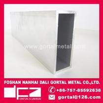 38x63 Aluminum RHS square pipe