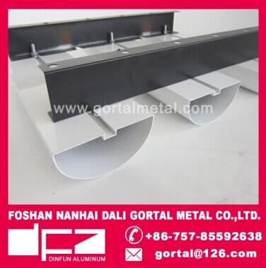 100x50 Aluminum baffle ceiling manufacturer