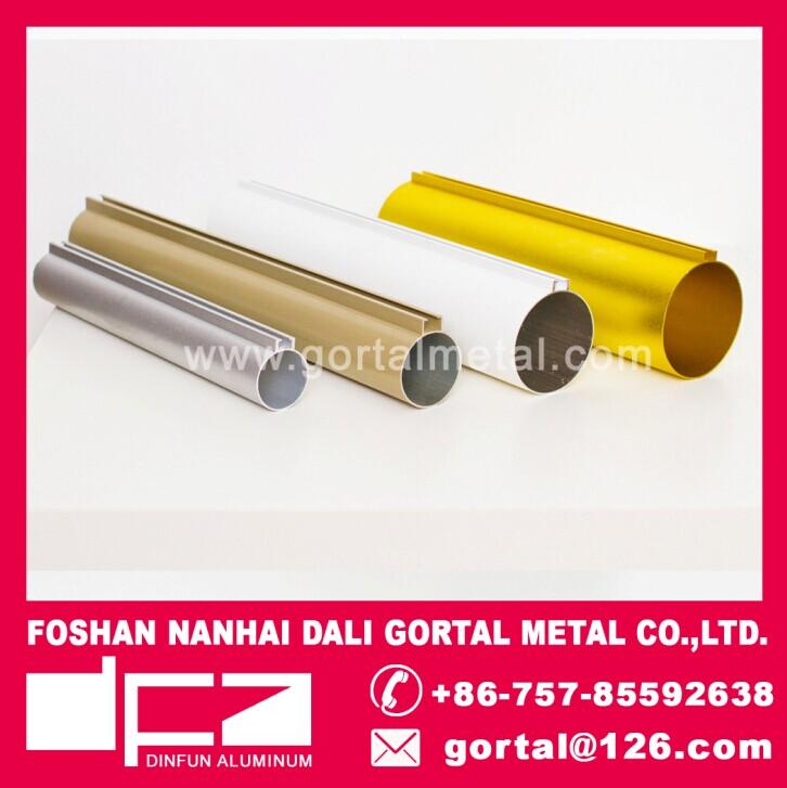 aluminum round tube metal ceiling