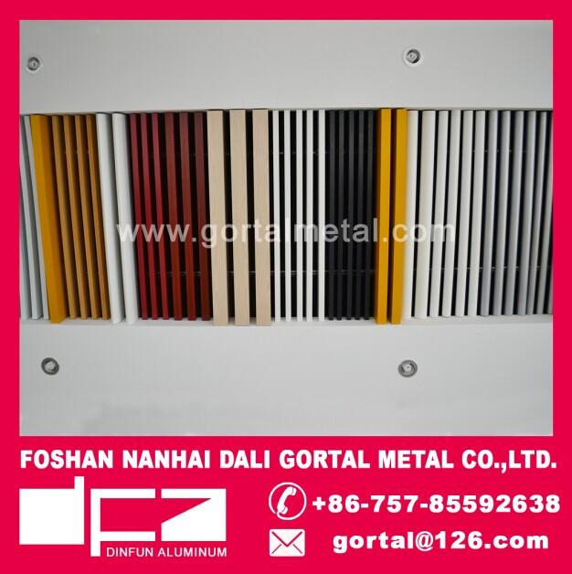 Gortal aluminum metal suspended ceiling