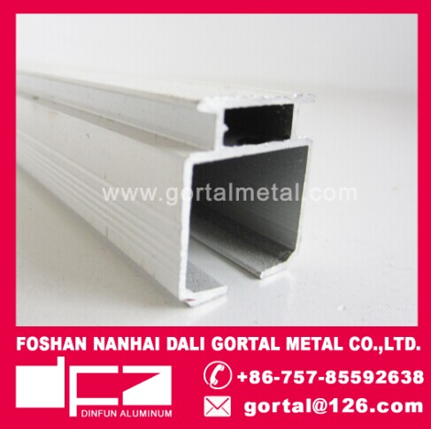 6063 powder coat aluminum sliding curtain track
