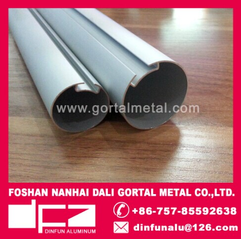 aluminum roller tube for curtain