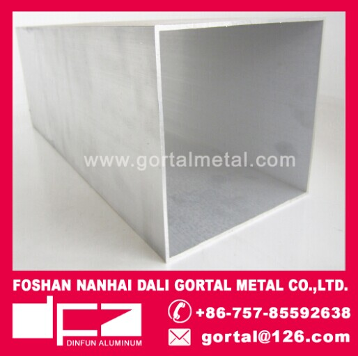 150x150 6063 RHS square pipe
