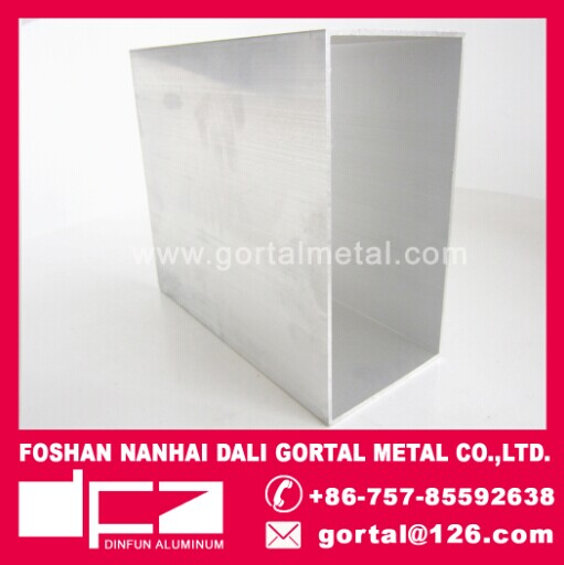 200x100 6063 aluminum profile RHS square pipe