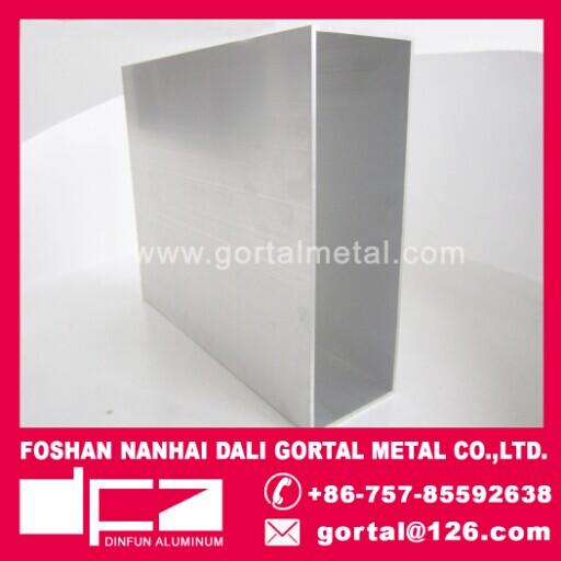 100x300 6063 aluminum RHS square pipe