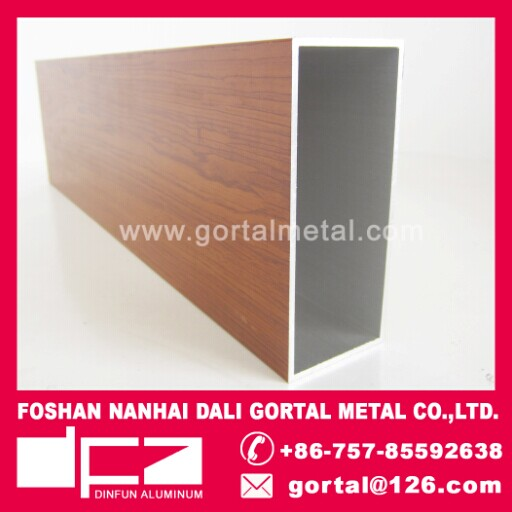 50x100x2.0 wood grain RHS square pipe