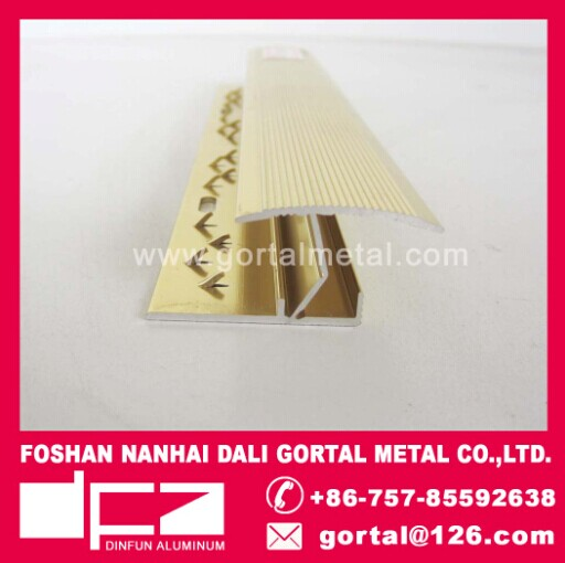 aluminum Z shape metal tile trim