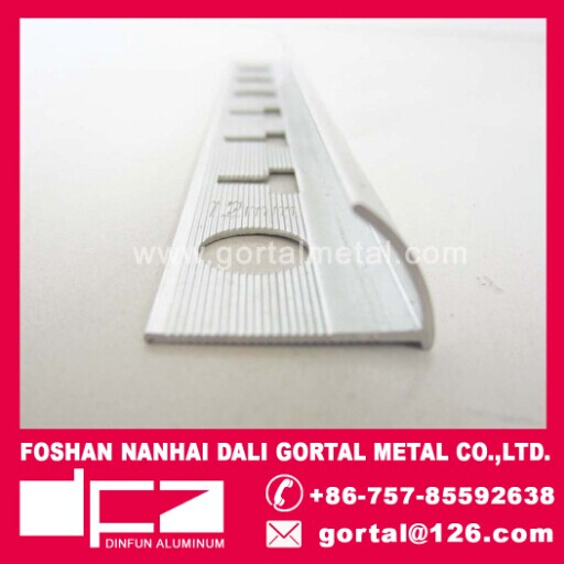 Aluminum flooring trim