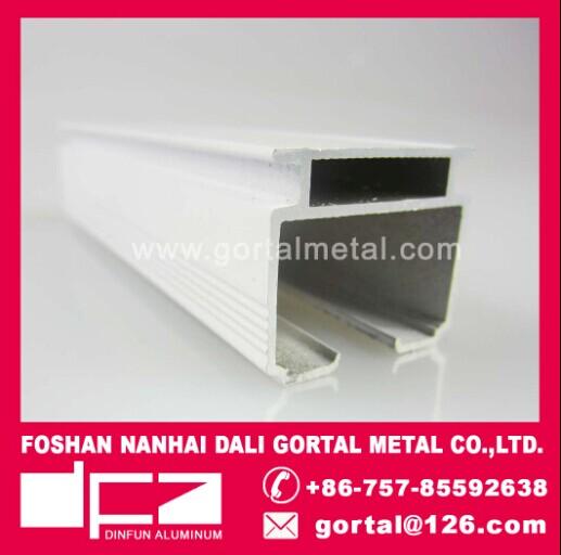 aluminium vertical blinds track