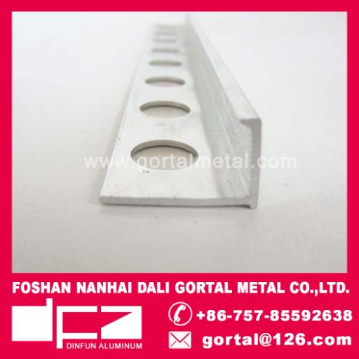 aluminum L shape edge trim