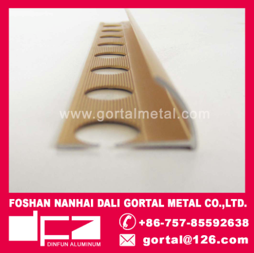 Aluminum tile strip