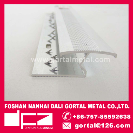 aluminum connect tile strip