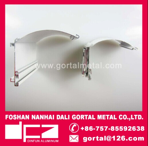 aluminum curtain head track