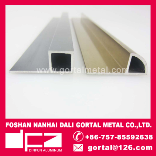 aluminium H12 listello tile trim export to Italy