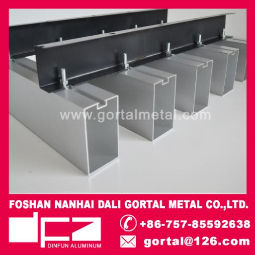 50x80 aluminum sqare baffle ceiling