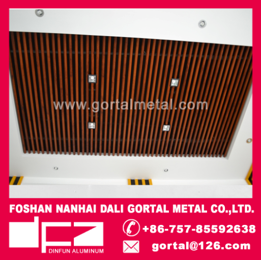 round pipe metal ceiling