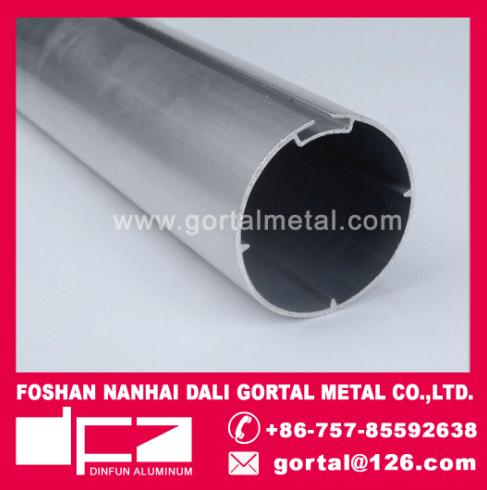 Aluminum curtain roller track
