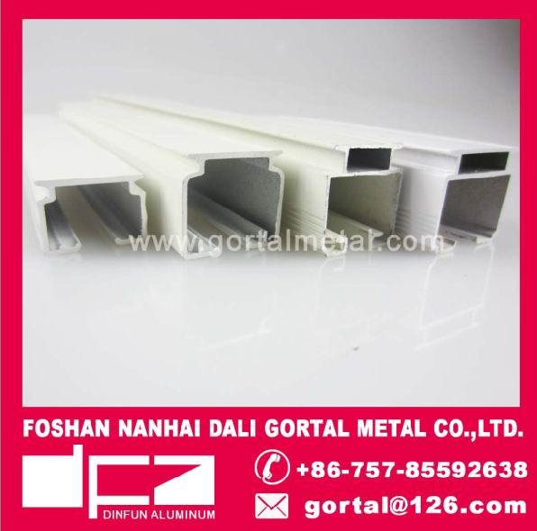 Aluminum curtain track roller blind vertical blind