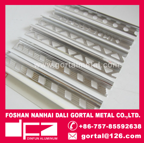 aluminum tile trim carpet trim flooring trim export to Italy Canada Afica Spain