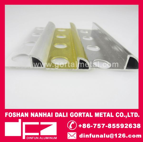 aluminum round corner tile trim polish tile trims Italy