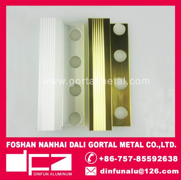 aluminum tile trim square stair edge trim Canada