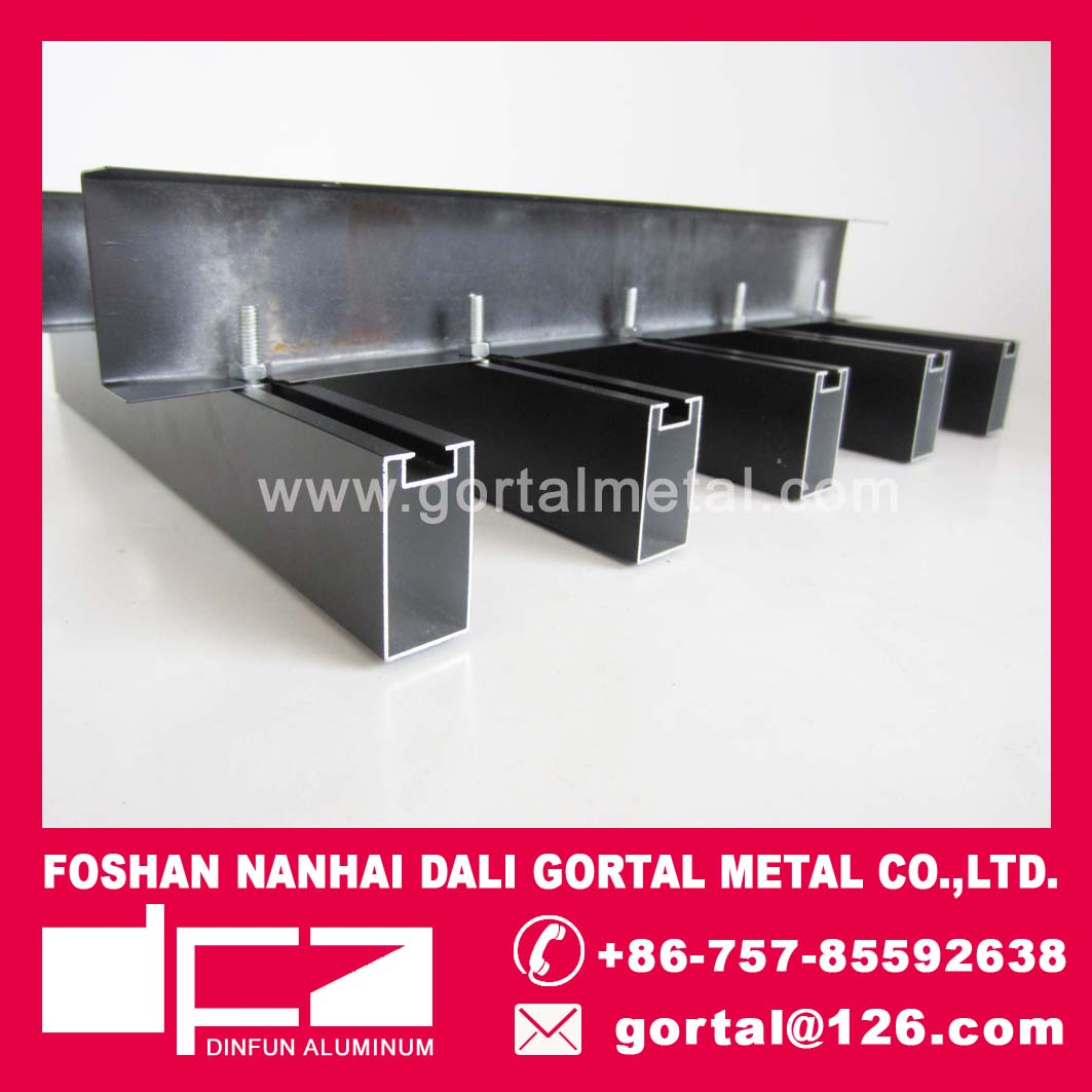 20x40 aluminum metal baffle ceiling for library