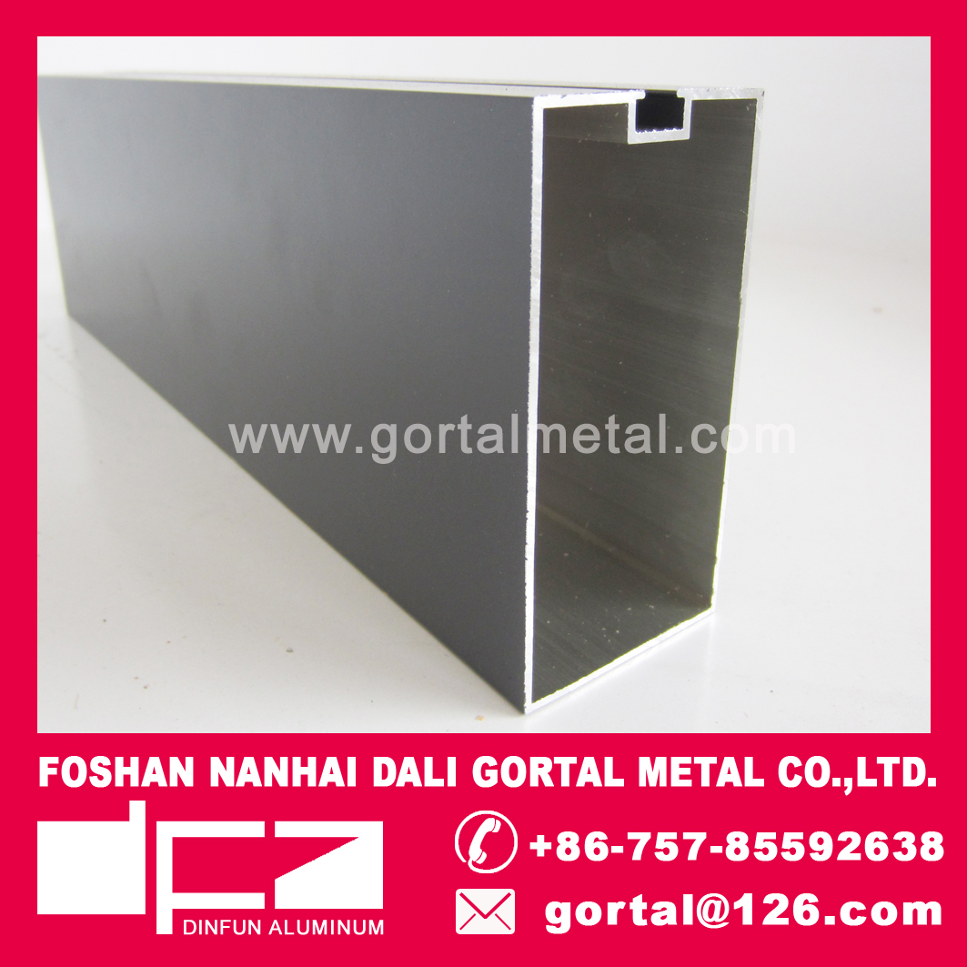 Aluminum ceiling 50x100x1.2mm